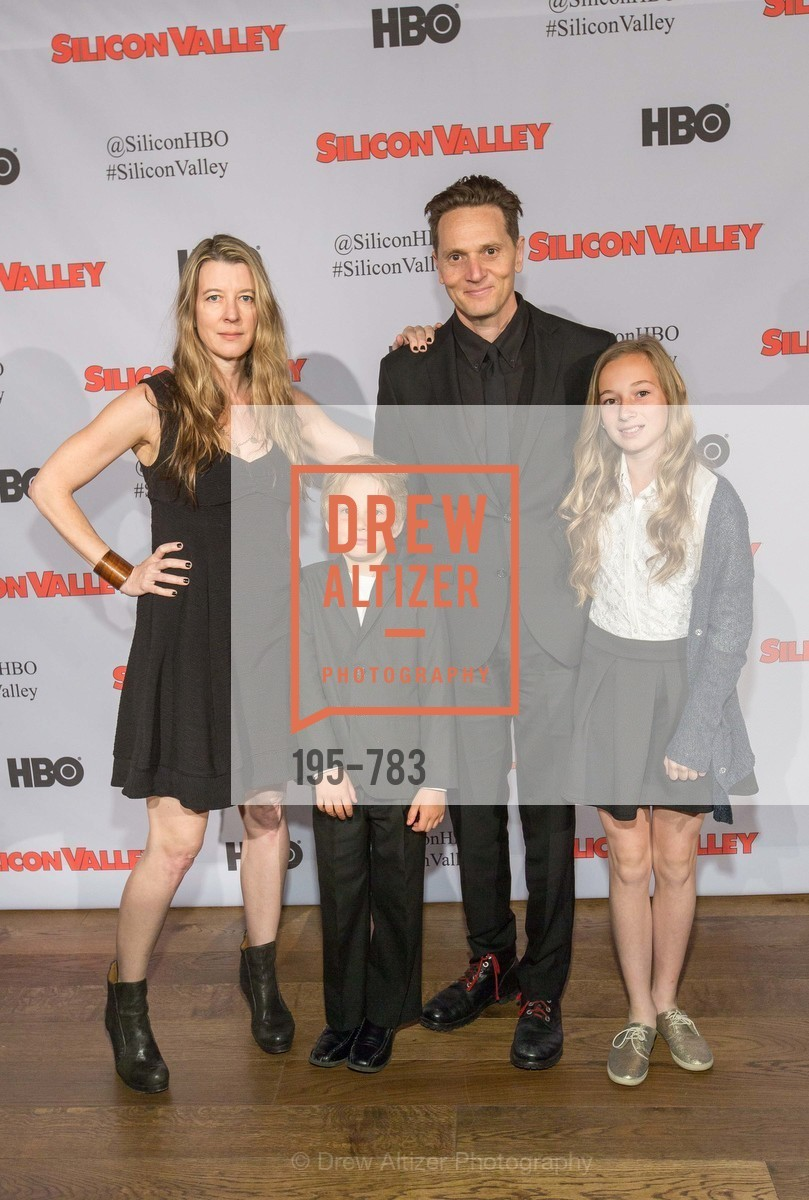 Phyllis Grant, Dash Ross, Matt Ross, Bella Ross, HBO'S SILICON VALLEY San Francisco Screening, US, April 8th, 2015,Drew Altizer, Drew Altizer Photography, full-service agency, private events, San Francisco photographer, photographer california