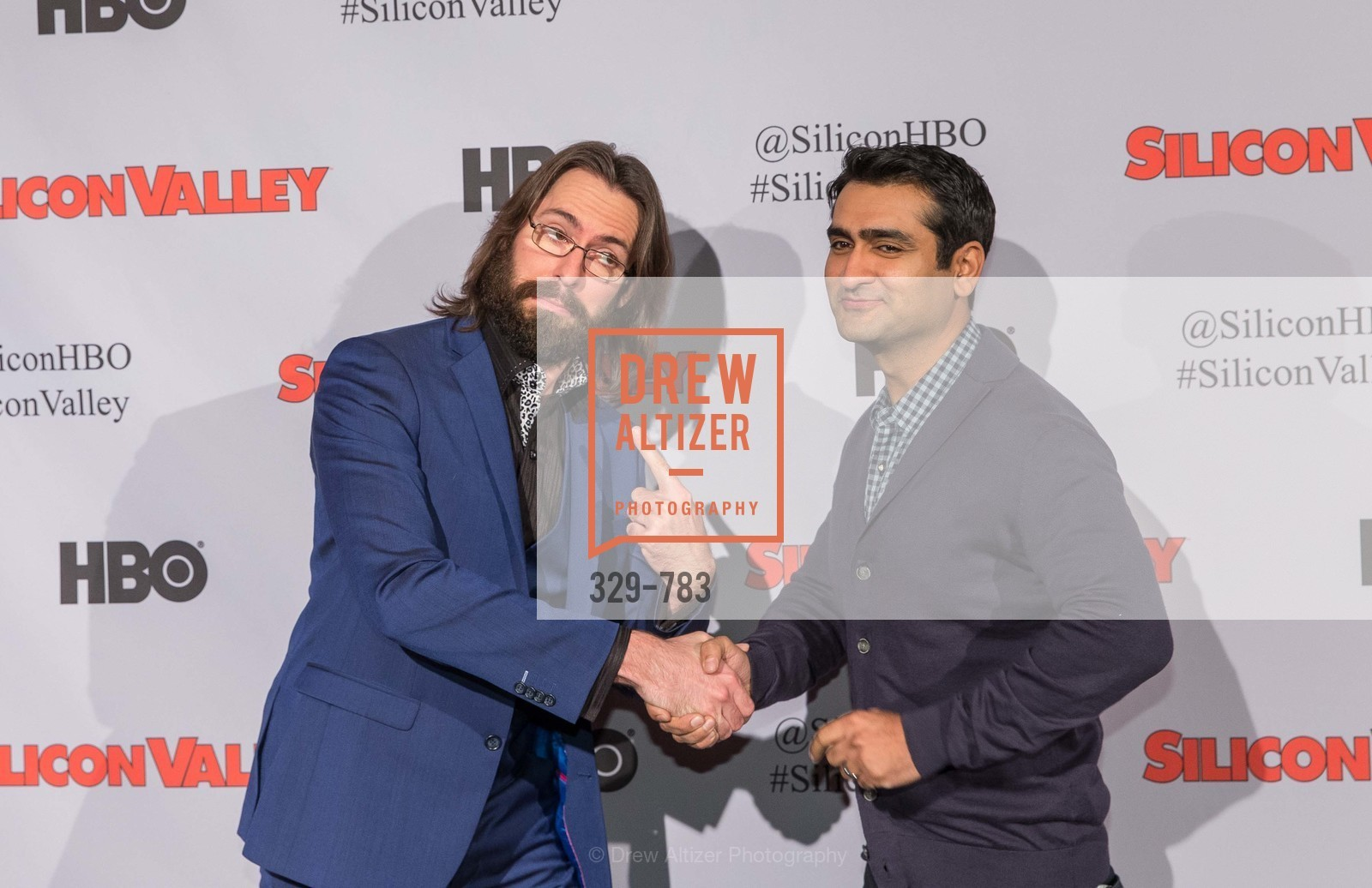 Martin Starr, Kumail Nanjiani, HBO'S SILICON VALLEY San Francisco Screening, US, April 9th, 2015