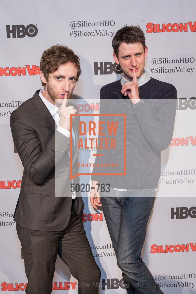 Thomas Middleditch, Zach Woods, HBO'S SILICON VALLEY San Francisco Screening, US, April 9th, 2015,Drew Altizer, Drew Altizer Photography, full-service agency, private events, San Francisco photographer, photographer california