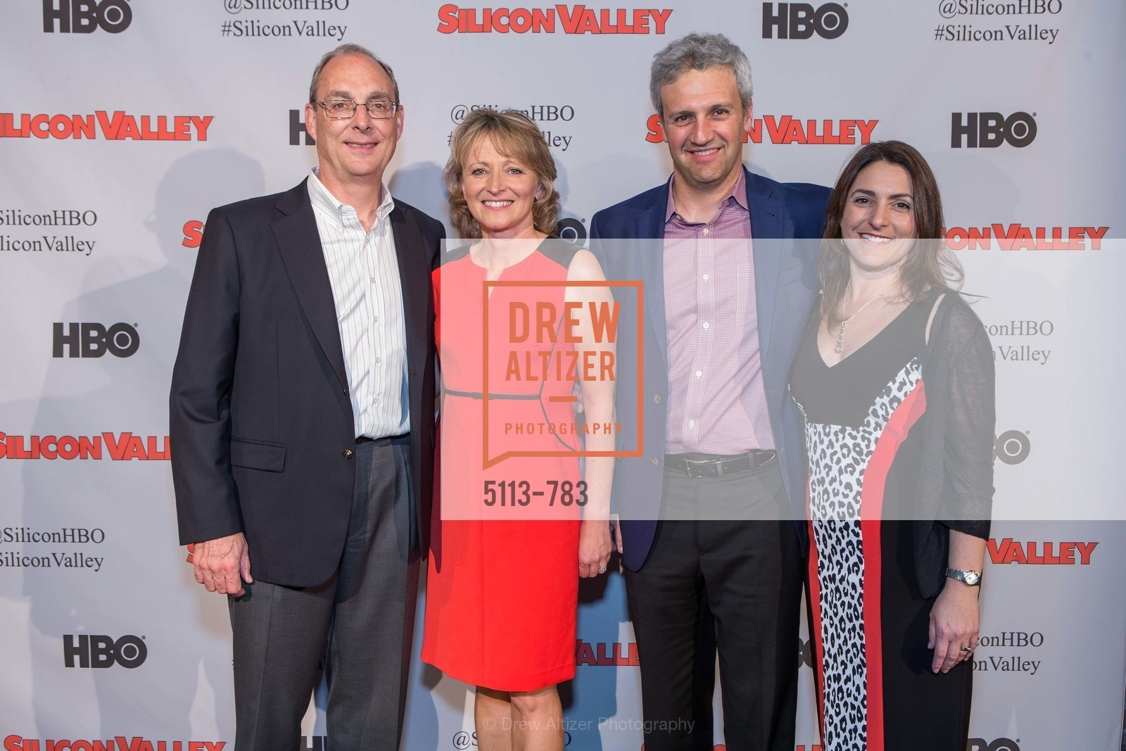 Hans Hartman, Linda Cleveland, Jeff Bachs, Rena Bachs, HBO'S SILICON VALLEY San Francisco Screening, US, April 9th, 2015