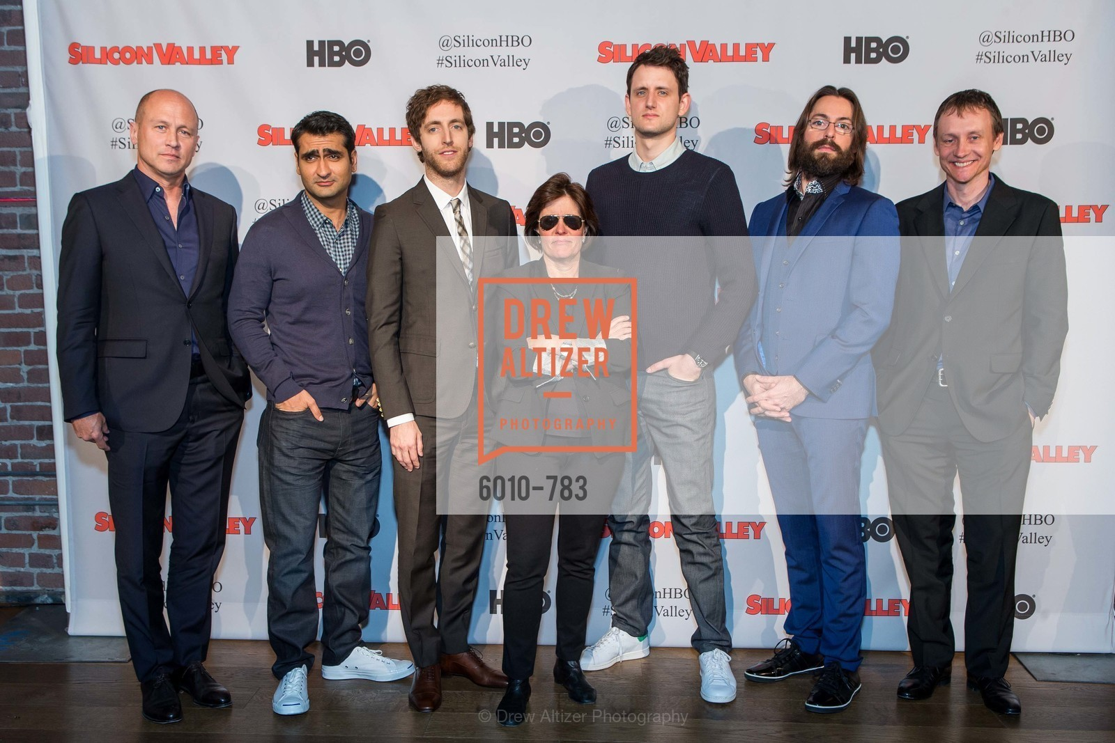 Mike Judge, Kumail Nanjiani, Thomas Middleditch, Kara Swisher, Zach Woods, Martin Starr, Alec Berg, HBO'S SILICON VALLEY San Francisco Screening, US, April 9th, 2015,Drew Altizer, Drew Altizer Photography, full-service agency, private events, San Francisco photographer, photographer california