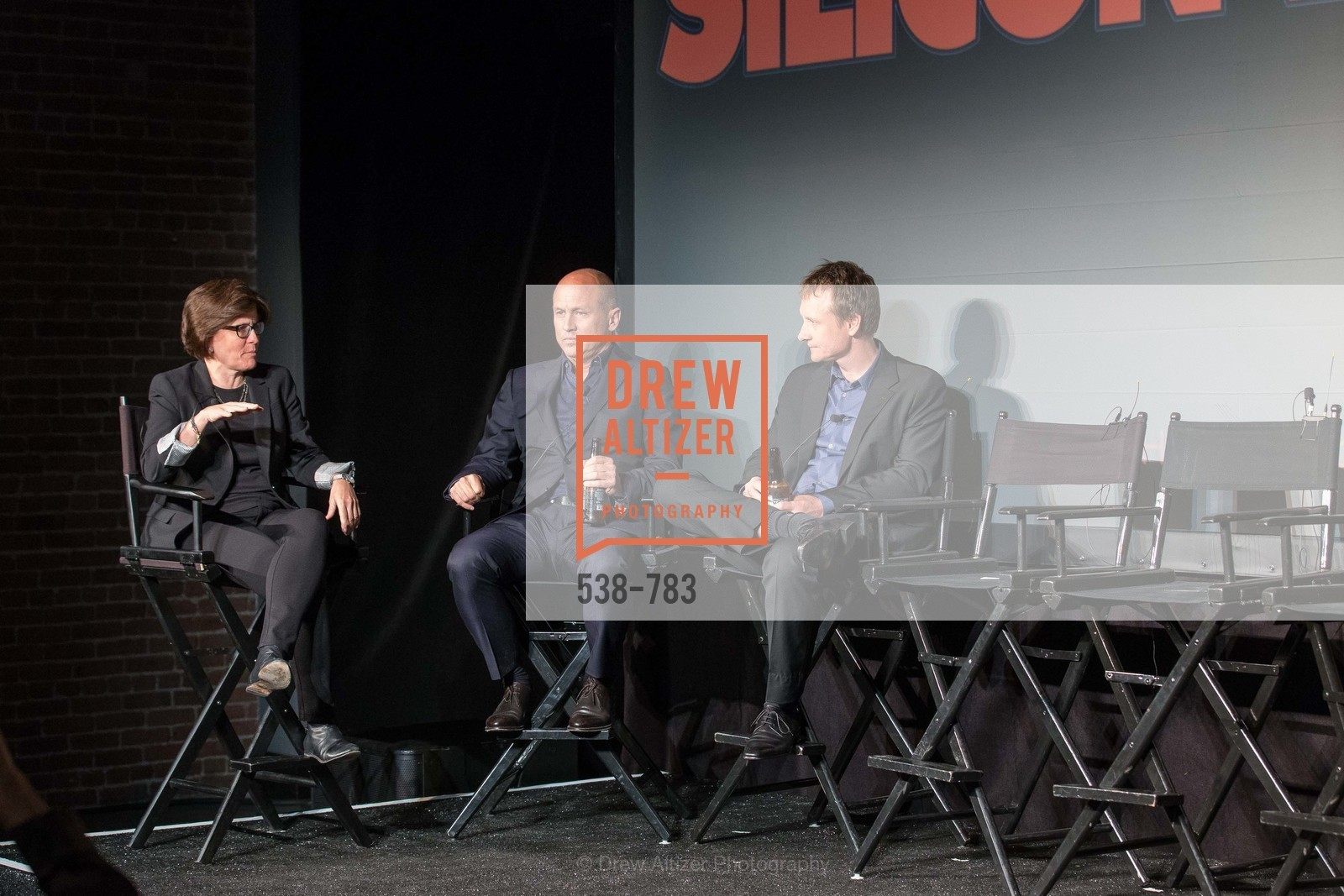 Kara Swisher, Mike Judge, Alec Berg, HBO'S SILICON VALLEY San Francisco Screening, US, April 9th, 2015,Drew Altizer, Drew Altizer Photography, full-service event agency, private events, San Francisco photographer, photographer California