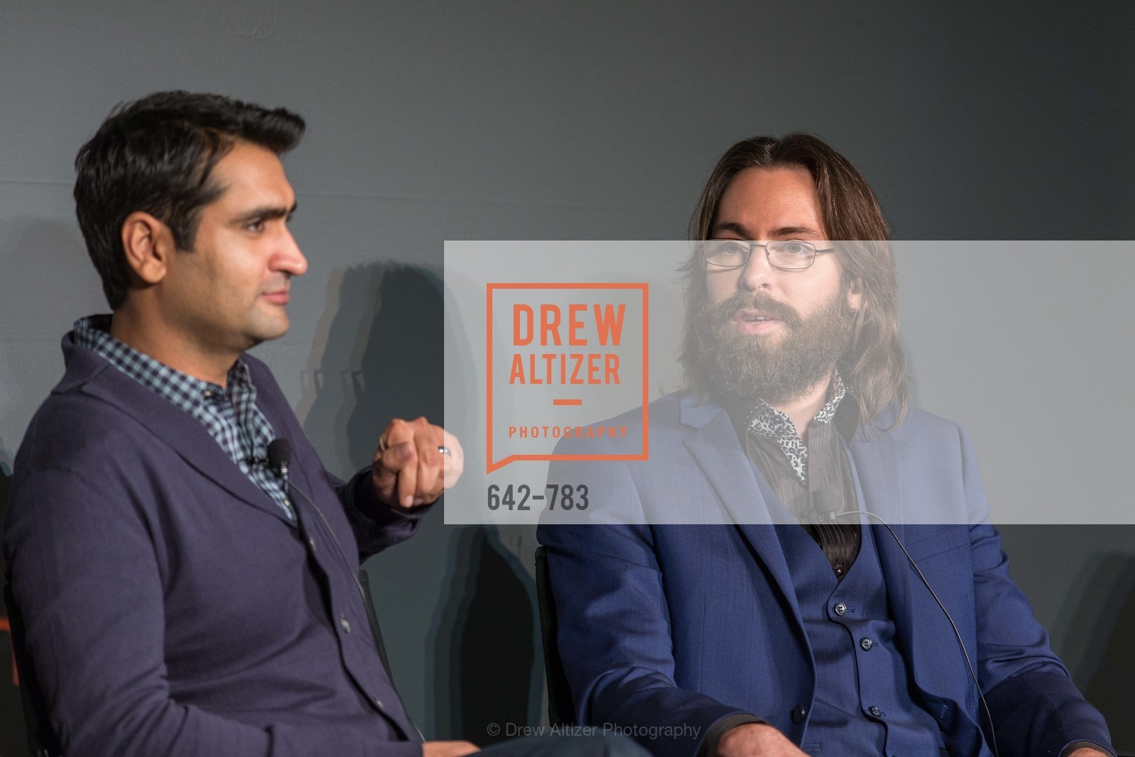 Kumail Nanjiani, Martin Starr, HBO'S SILICON VALLEY San Francisco Screening, US, April 9th, 2015,Drew Altizer, Drew Altizer Photography, full-service agency, private events, San Francisco photographer, photographer california