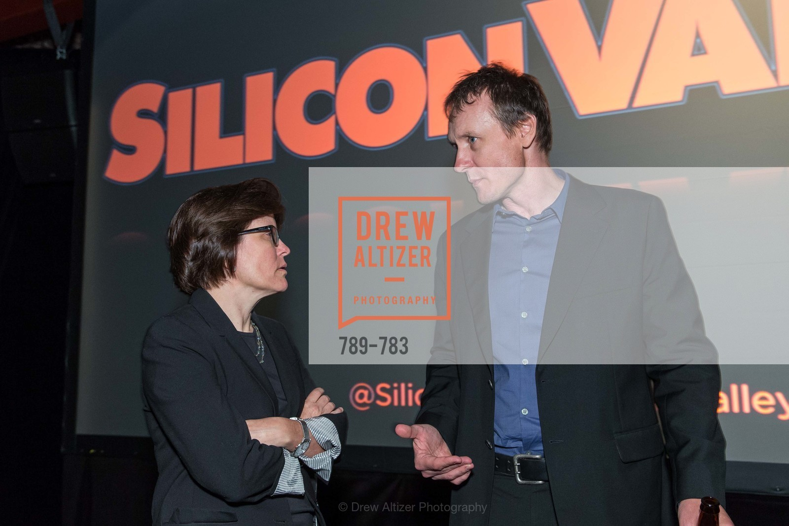 Kara Swisher, Alec Berg, HBO'S SILICON VALLEY San Francisco Screening, US, April 9th, 2015,Drew Altizer, Drew Altizer Photography, full-service agency, private events, San Francisco photographer, photographer california