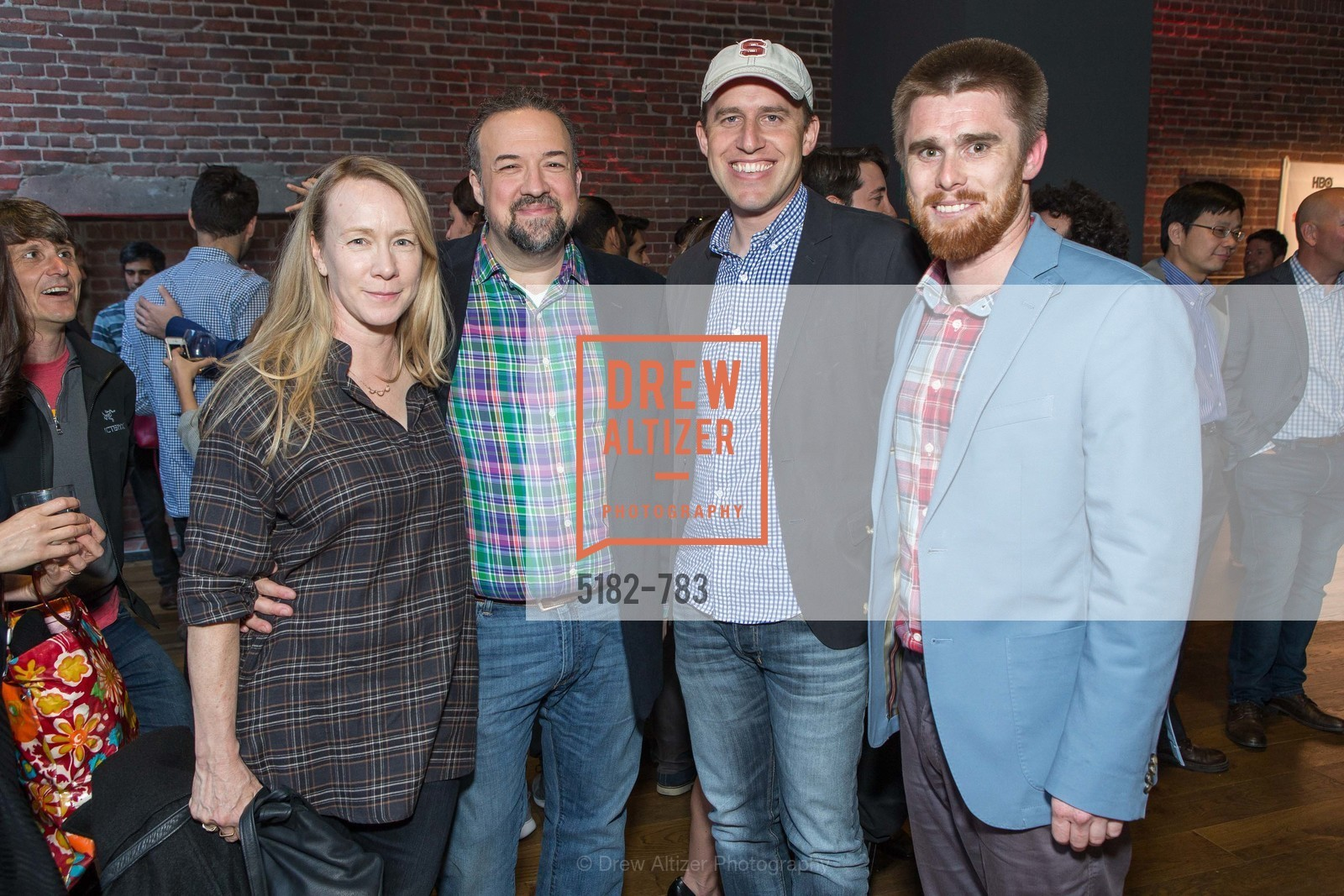 Christine Dibona, Chris Dibona, Brett Taylor, Ross Miller, HBO'S SILICON VALLEY San Francisco Screening, US, April 8th, 2015,Drew Altizer, Drew Altizer Photography, full-service agency, private events, San Francisco photographer, photographer california