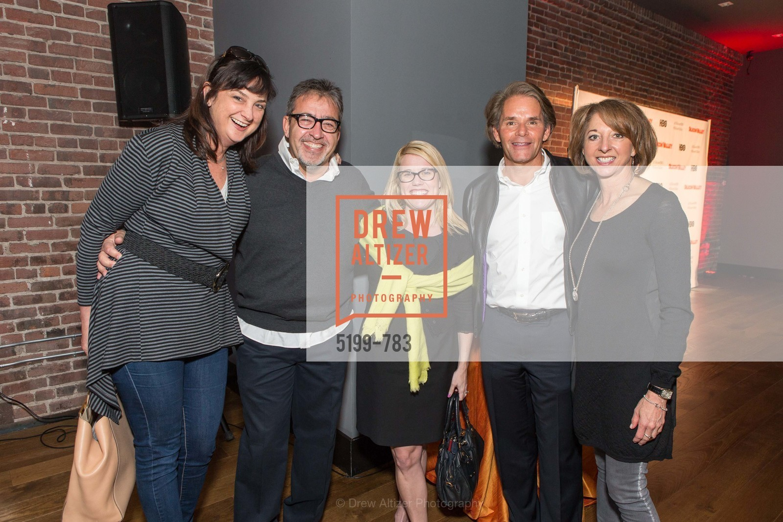 Luanne Talbert, Fabricio Amati, Abby Lunardini, David Cush, Theresa Briggs, HBO'S SILICON VALLEY San Francisco Screening, US, April 9th, 2015,Drew Altizer, Drew Altizer Photography, full-service agency, private events, San Francisco photographer, photographer california