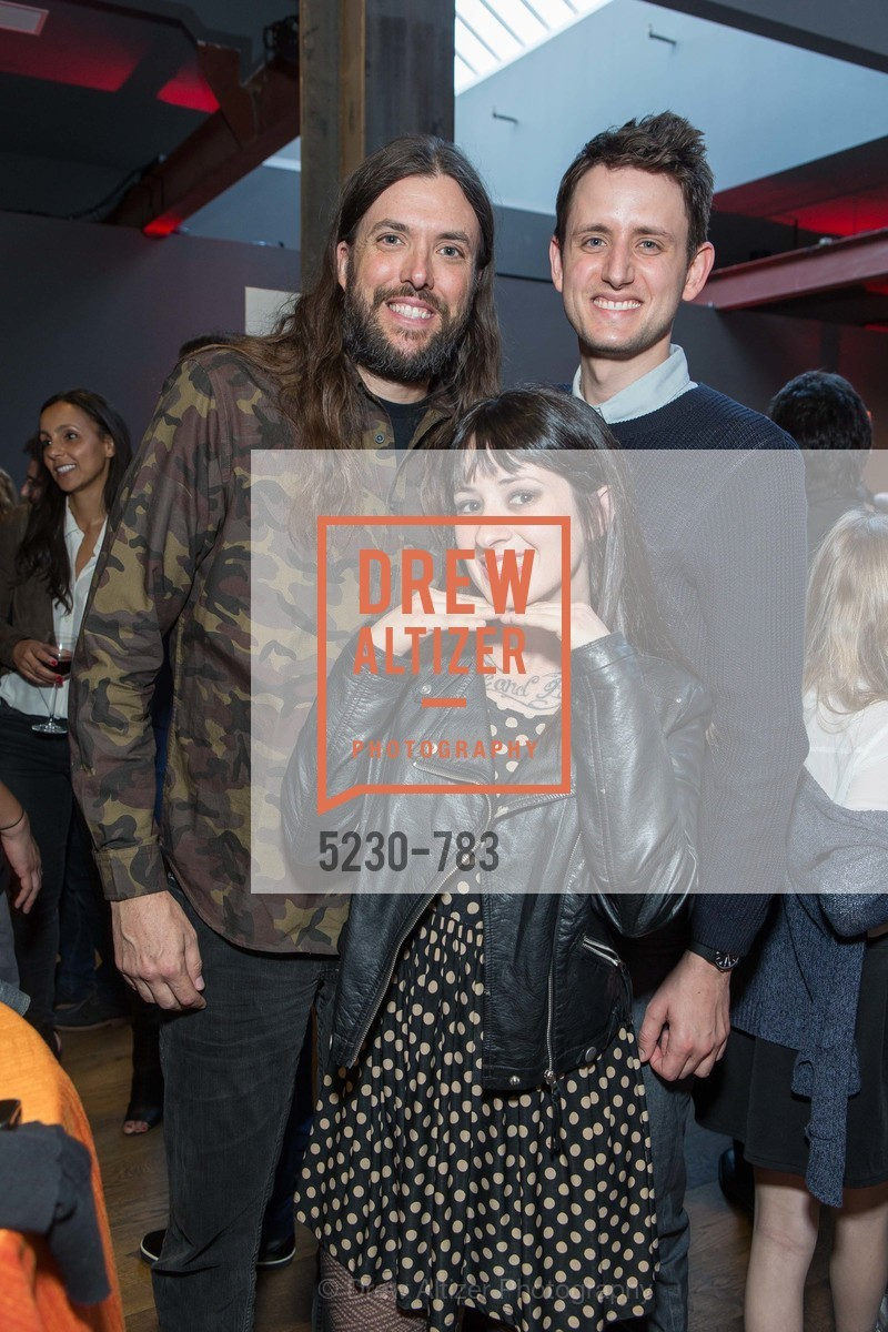 Chris Sullivan, Kate Ward, Zach Woods, HBO'S SILICON VALLEY San Francisco Screening, US, April 8th, 2015,Drew Altizer, Drew Altizer Photography, full-service agency, private events, San Francisco photographer, photographer california