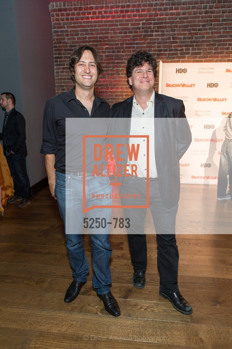 Daniel Barcay, Eric Weinstein, HBO'S SILICON VALLEY San Francisco Screening, US, April 9th, 2015
