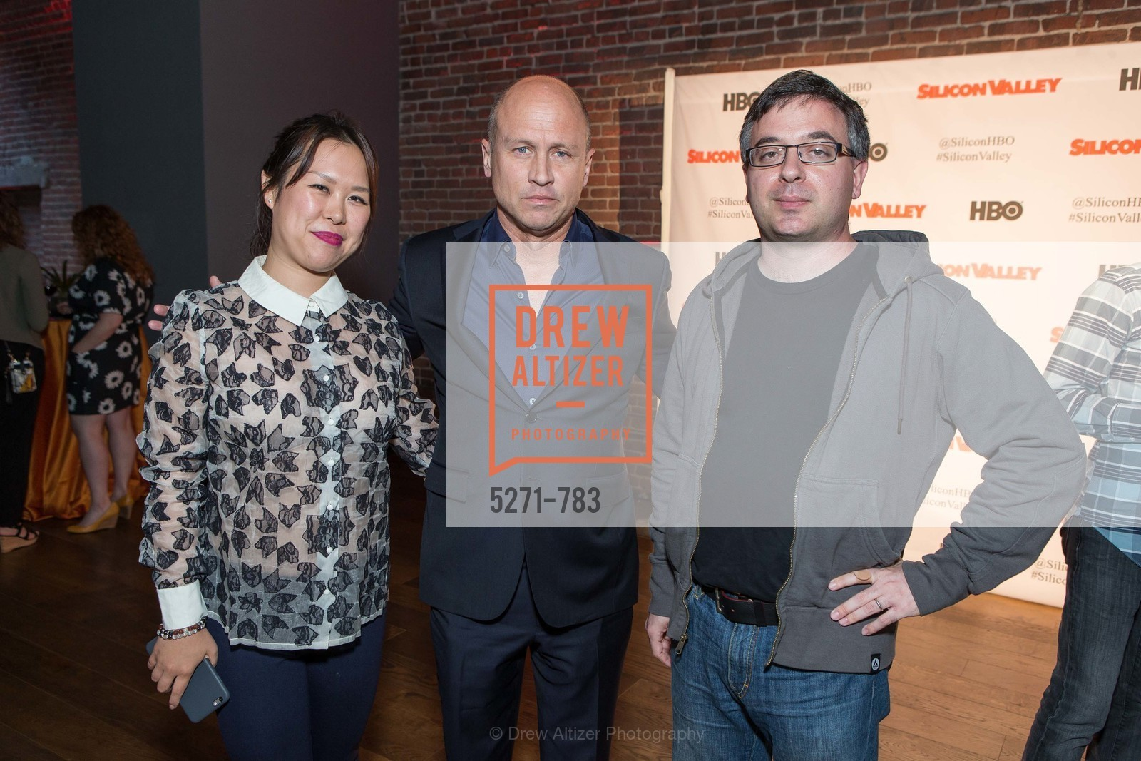 Anya Lee, Mike Judge, Joshua Schachter, HBO'S SILICON VALLEY San Francisco Screening, US, April 9th, 2015,Drew Altizer, Drew Altizer Photography, full-service event agency, private events, San Francisco photographer, photographer California