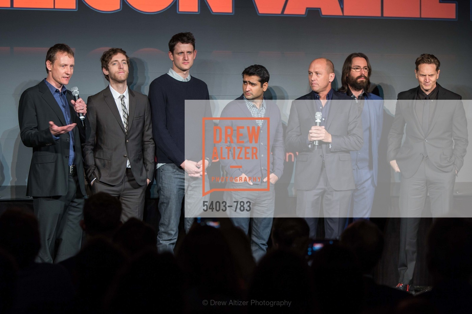 Alec Berg, Thomas Middleditch, Zach Woods, Kumial Nanjiani, Mike Judge, Martin Starr, Matt Ross, HBO'S SILICON VALLEY San Francisco Screening, US, April 9th, 2015,Drew Altizer, Drew Altizer Photography, full-service agency, private events, San Francisco photographer, photographer california