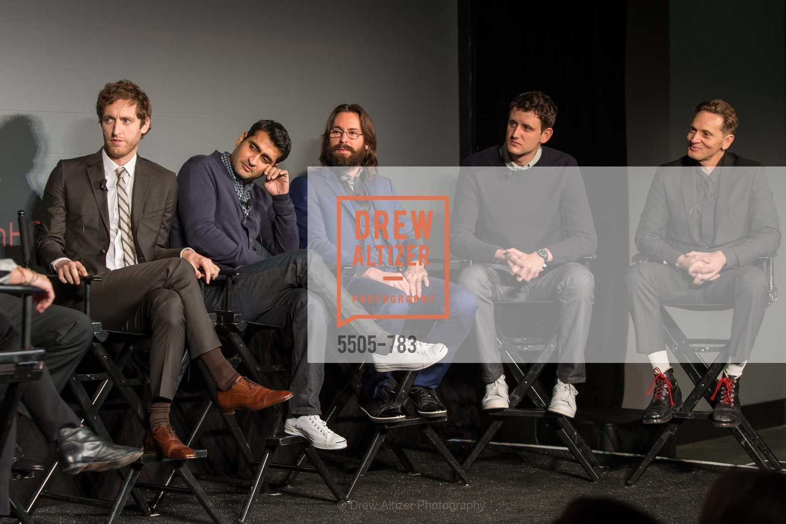 Thomas Middleditch, Kumail Nanjiani, Martin Starr, Zach Woods, Matt Ross, HBO'S SILICON VALLEY San Francisco Screening, US, April 9th, 2015,Drew Altizer, Drew Altizer Photography, full-service agency, private events, San Francisco photographer, photographer california