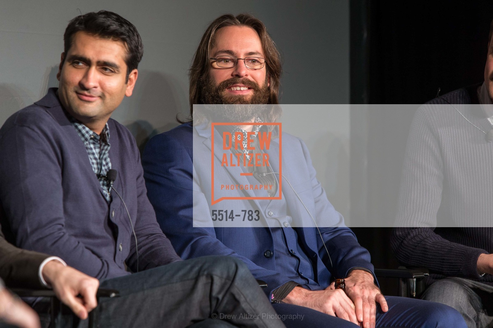 Kumail Nanjiani, Martin Starr, HBO'S SILICON VALLEY San Francisco Screening, US, April 8th, 2015,Drew Altizer, Drew Altizer Photography, full-service agency, private events, San Francisco photographer, photographer california
