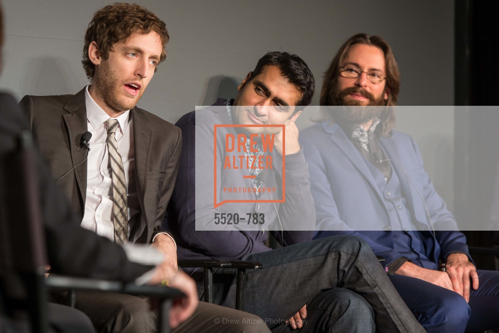 Thomas Middleditch, Kumail Nanjiani, Martin Starr, HBO'S SILICON VALLEY San Francisco Screening, US, April 8th, 2015,Drew Altizer, Drew Altizer Photography, full-service agency, private events, San Francisco photographer, photographer california