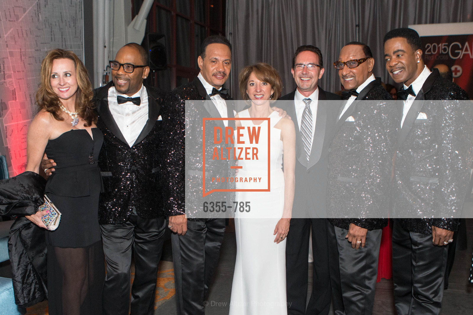 Lawnrence Payton, Ronnie McNair, Teresa Briggs, Duke Fakir, Spike Bonhart, 2015 RED CROSS Gala, US, April 11th, 2015,Drew Altizer, Drew Altizer Photography, full-service agency, private events, San Francisco photographer, photographer california