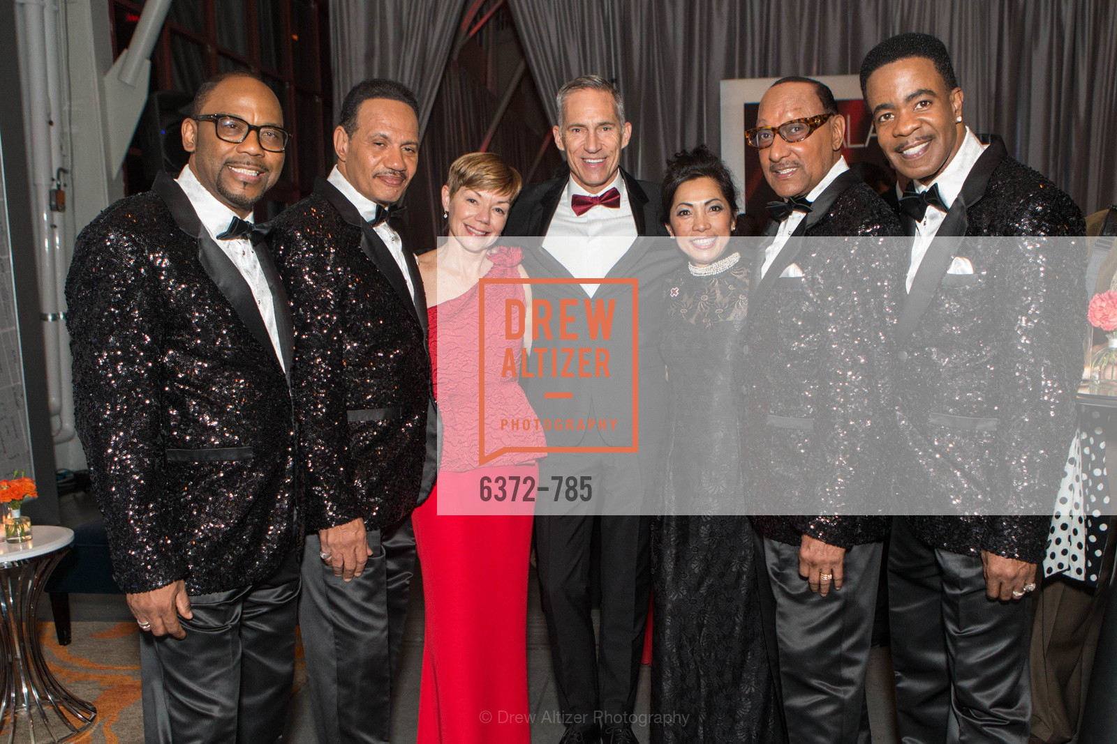 Lawrence Payton, Ronnie McNair, Paula Downey, Mark Cloutier, Quinn Tran, Duke Fakir, Spike Bonhart, 2015 RED CROSS Gala, US, April 12th, 2015,Drew Altizer, Drew Altizer Photography, full-service agency, private events, San Francisco photographer, photographer california