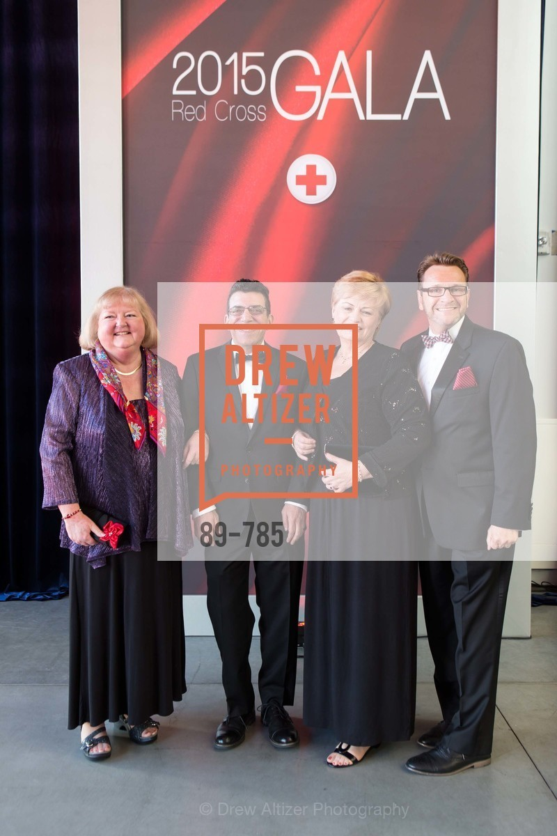 Jean Boudreau, Ernie Calber, Deborah Holmes, Jason Pulido, 2015 RED CROSS Gala, US, April 11th, 2015,Drew Altizer, Drew Altizer Photography, full-service agency, private events, San Francisco photographer, photographer california