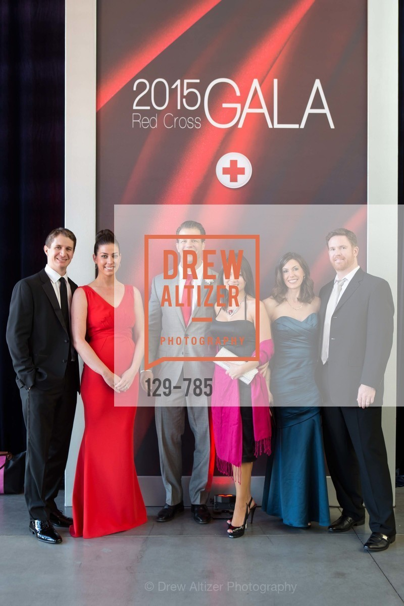 Sean Whitfield, Sarah Whitfiled, Mark DeWeese, Christine Lopez, Connie Janvrin, Chase Janvrin, 2015 RED CROSS Gala, US, April 11th, 2015,Drew Altizer, Drew Altizer Photography, full-service agency, private events, San Francisco photographer, photographer california