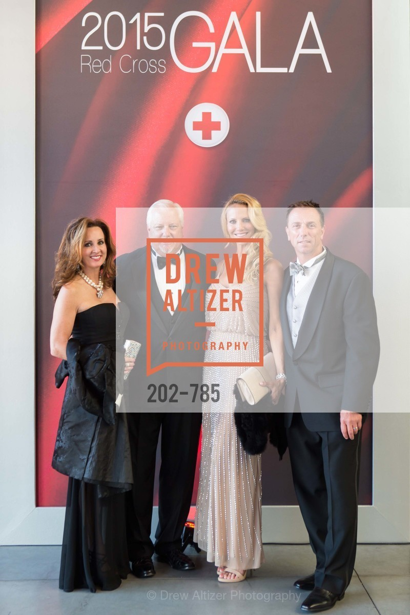 Scott Summers, Sherri Summers, Kelly Pigano, Mike Pigano, 2015 RED CROSS Gala, US, April 11th, 2015,Drew Altizer, Drew Altizer Photography, full-service agency, private events, San Francisco photographer, photographer california