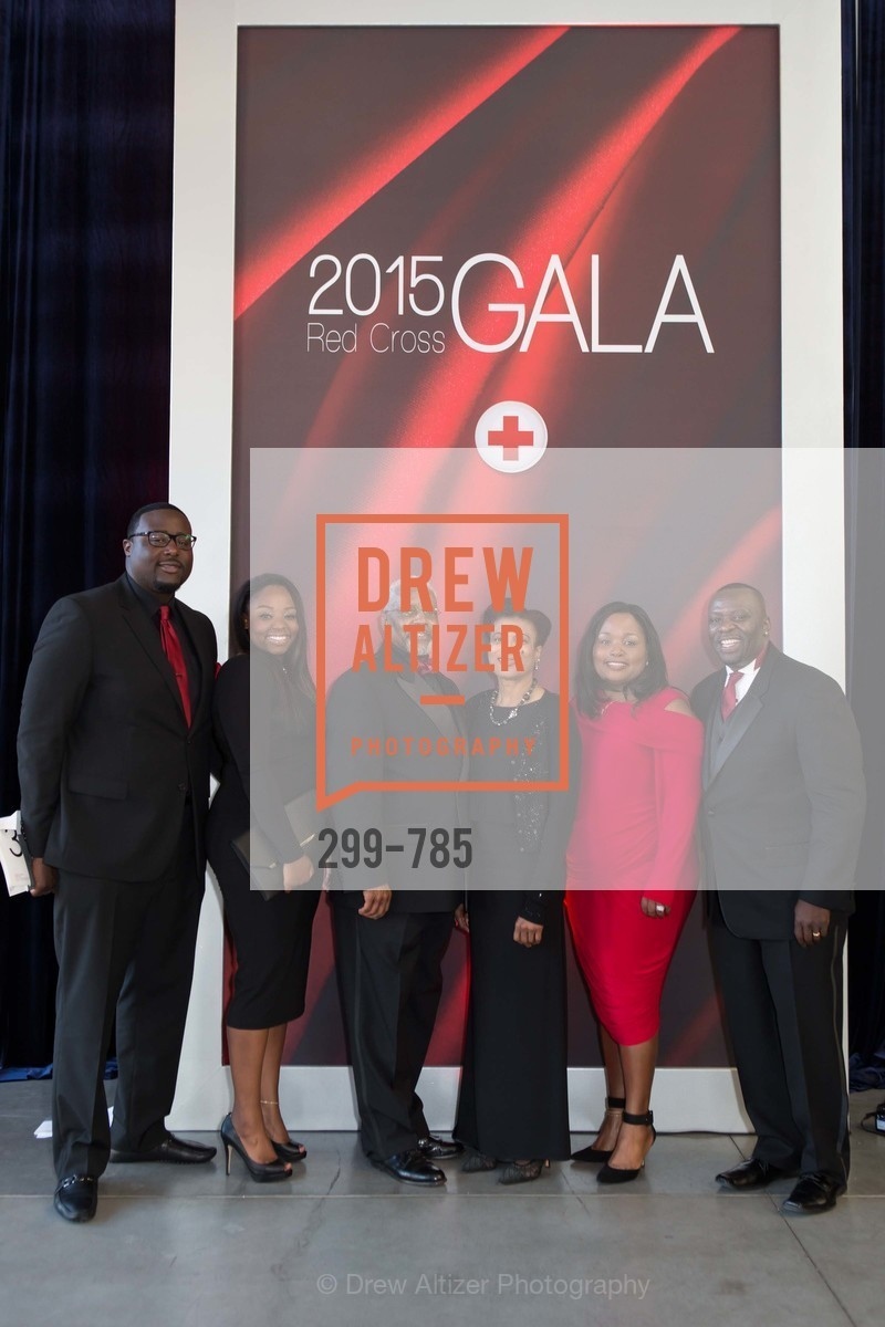 Basil Lecky, Christina White, Robert Coleman, Patricia Rowe, Rose White, Keith White, 2015 RED CROSS Gala, US, April 12th, 2015,Drew Altizer, Drew Altizer Photography, full-service agency, private events, San Francisco photographer, photographer california