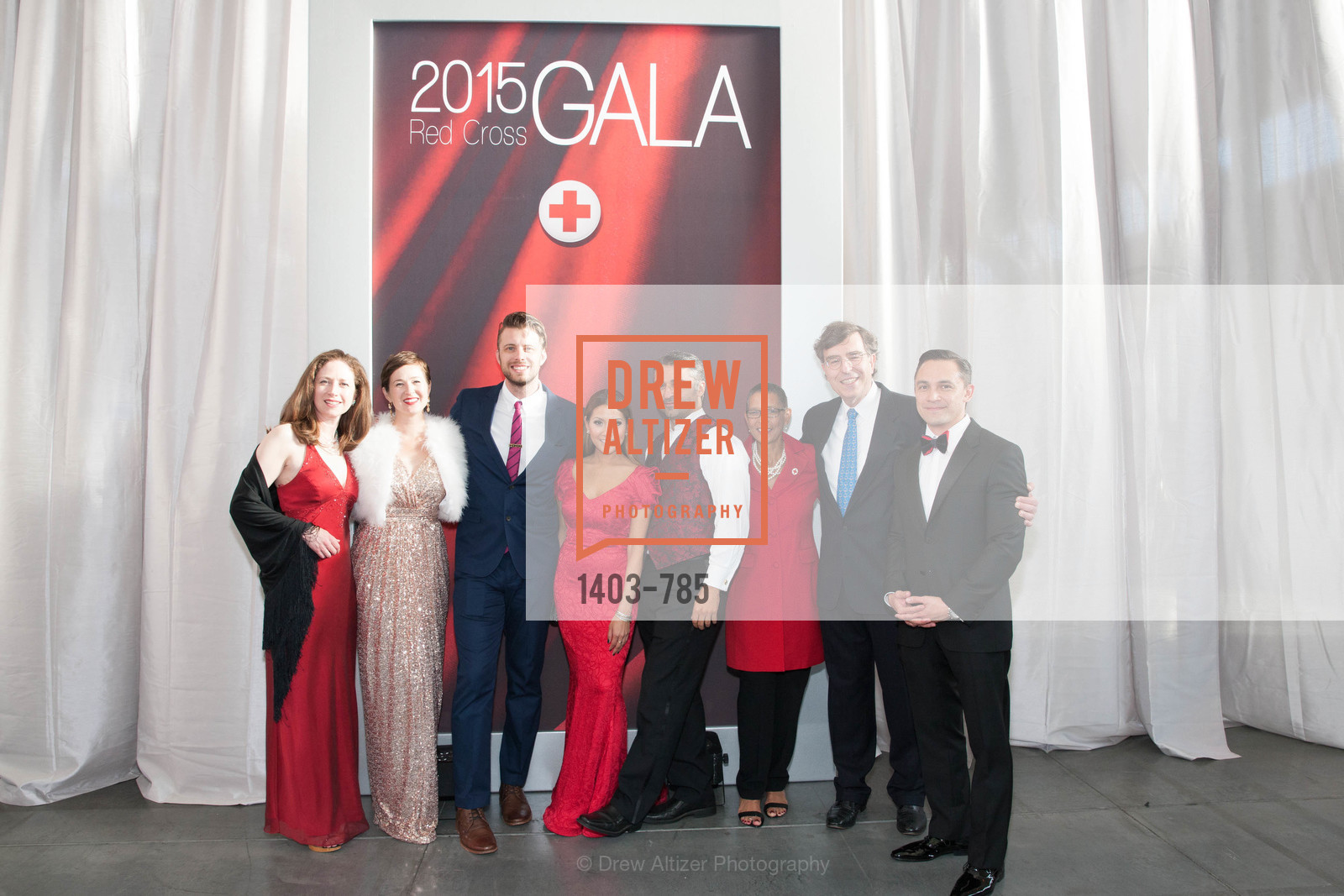 Moira Dowell, Emily White, Neil Freese, Lillian Phan, Hooman Khalili, Donnay Duay, Neal Litvack, Erza Garrett, 2015 RED CROSS Gala, US, April 11th, 2015,Drew Altizer, Drew Altizer Photography, full-service agency, private events, San Francisco photographer, photographer california