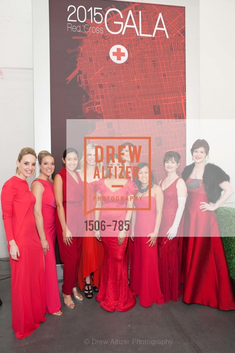 Lindsey Haswell, Shelly Carter, Ginie Brown, Colby Hallen, Lillian Phan, Maryam Ghajar, Julie Le, V'Anne Singleton, Elaine Mellis, 2015 RED CROSS Gala, US, April 12th, 2015,Drew Altizer, Drew Altizer Photography, full-service agency, private events, San Francisco photographer, photographer california
