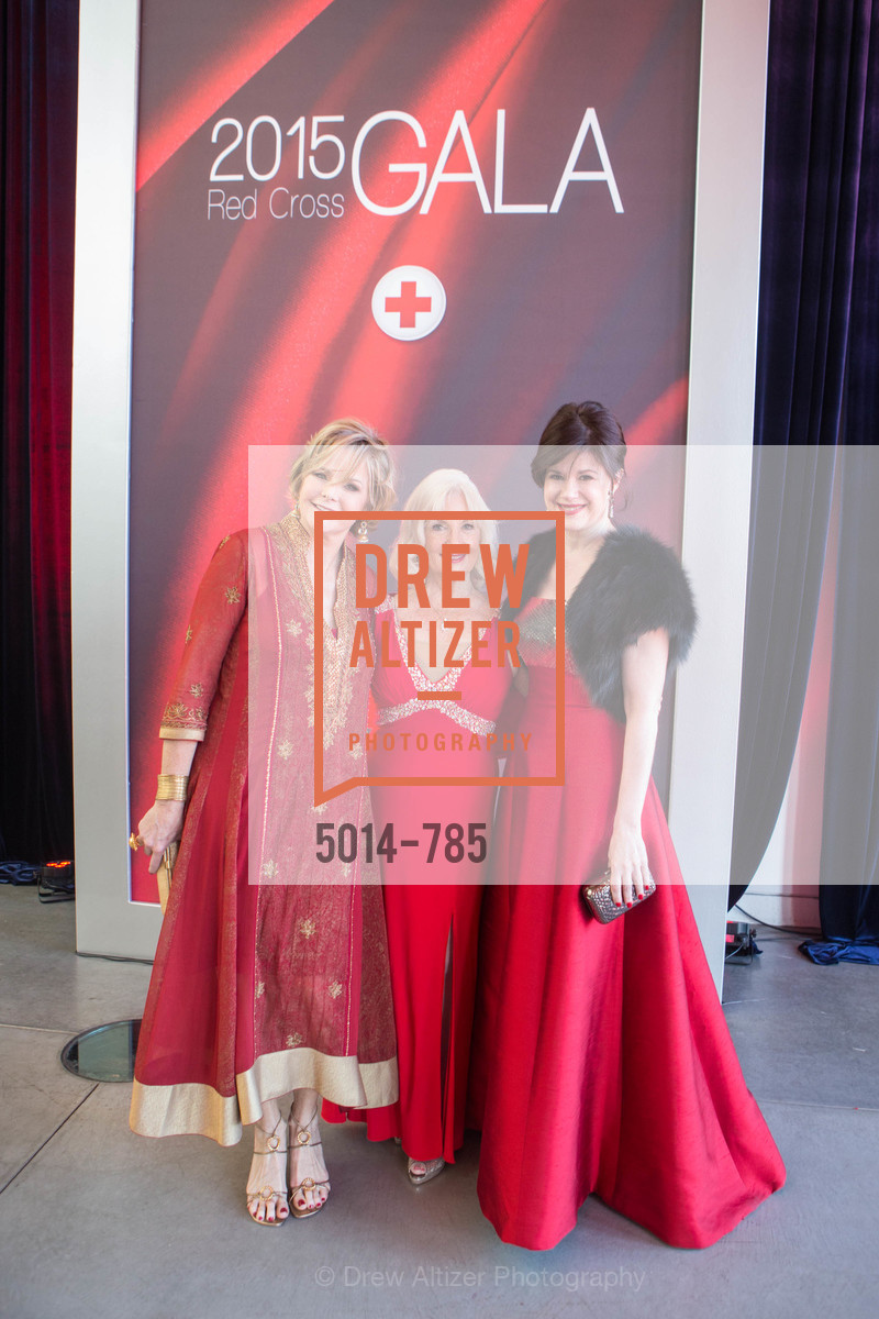 Deirdre Byrne, Arlene Inch, Elaine Mellis, 2015 RED CROSS Gala, US, April 12th, 2015,Drew Altizer, Drew Altizer Photography, full-service agency, private events, San Francisco photographer, photographer california