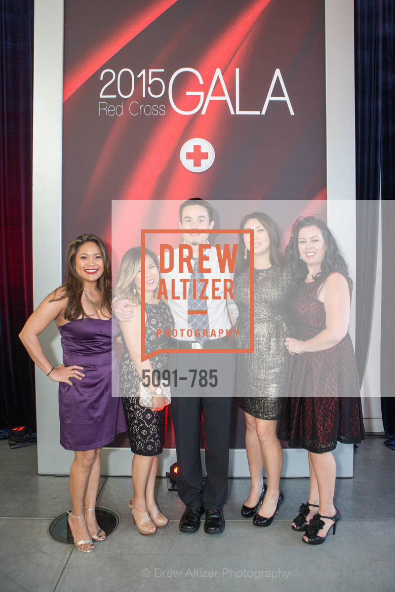Stephanie Campos, Kaitlyn Paige, Alan Hutchings, Mari Hutchings, Emma Chavaria, 2015 RED CROSS Gala, US, April 11th, 2015,Drew Altizer, Drew Altizer Photography, full-service agency, private events, San Francisco photographer, photographer california