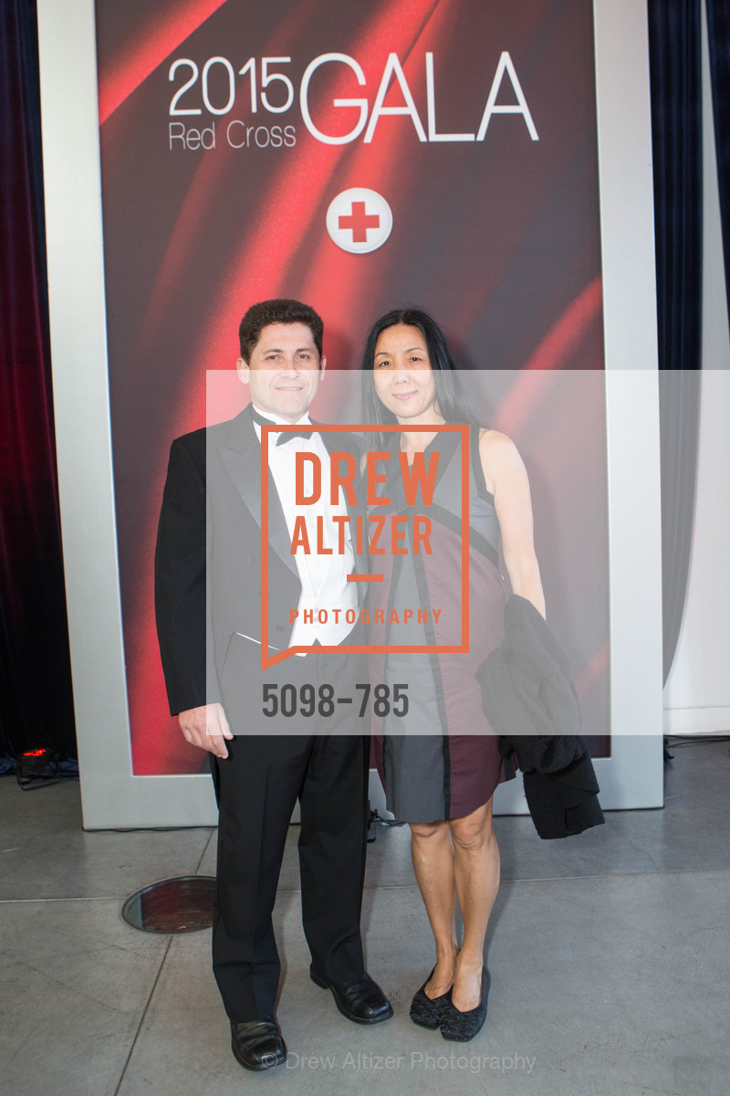 Patrice Maheo, Ping Xie, 2015 RED CROSS Gala, US, April 11th, 2015,Drew Altizer, Drew Altizer Photography, full-service agency, private events, San Francisco photographer, photographer california