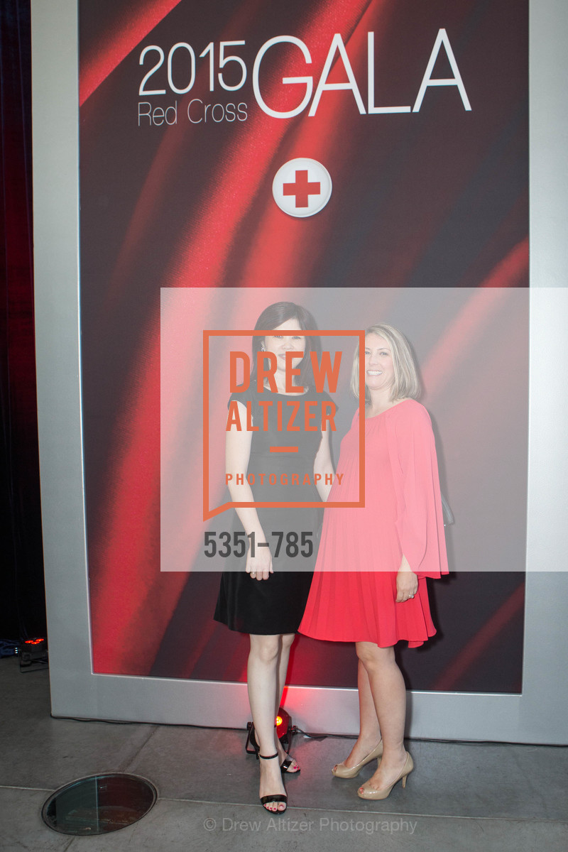 Helen Hong, Rachel Alabanza, 2015 RED CROSS Gala, US, April 12th, 2015