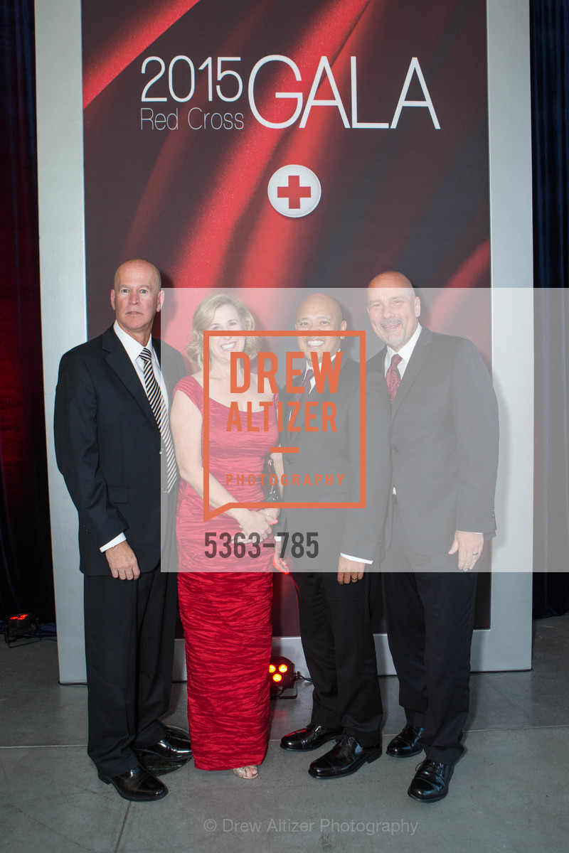 Eric Andel, Marie Andel, Ren Magat, David Brown, 2015 RED CROSS Gala, US, April 11th, 2015,Drew Altizer, Drew Altizer Photography, full-service agency, private events, San Francisco photographer, photographer california