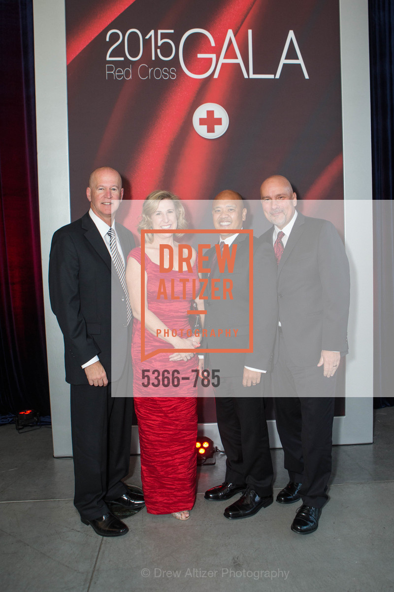 Eric Andel, Marie Andel, Ren Magat, David Brown, 2015 RED CROSS Gala, US, April 12th, 2015,Drew Altizer, Drew Altizer Photography, full-service agency, private events, San Francisco photographer, photographer california
