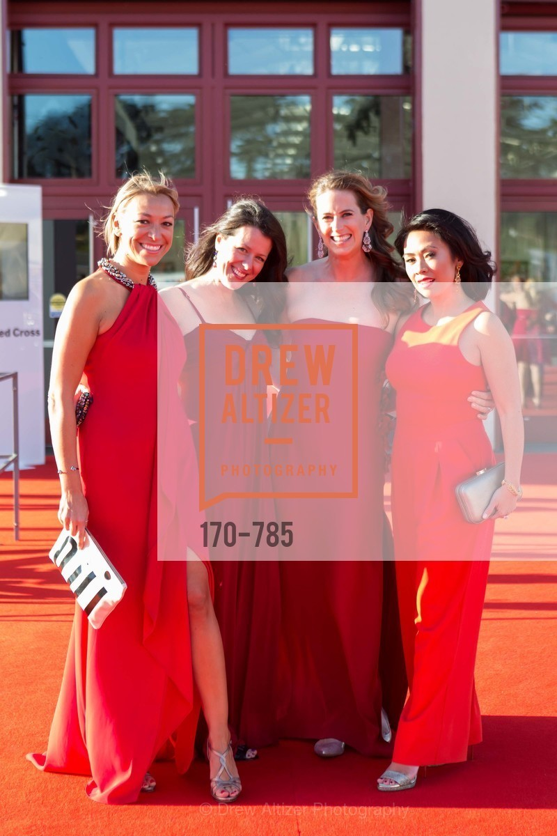 Uli Martinez, Jenny Brown, Kelly Murphy, Nielma Hock, 2015 RED CROSS Gala, US, April 12th, 2015