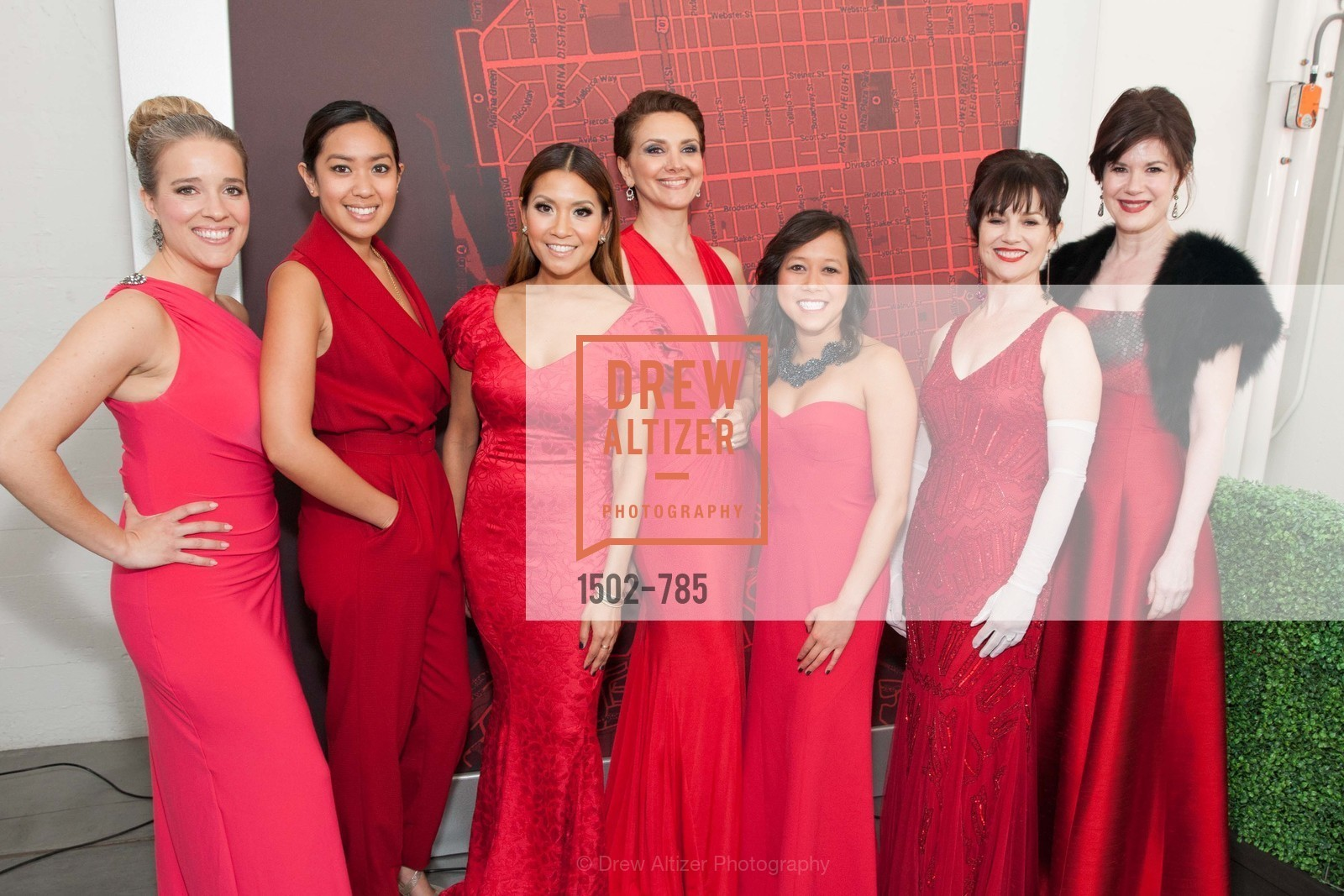 Shelly Carter, Ginie Brown, Lillian Phan, Maryam Ghajar, Julie Le, V'Anne Singleton, Elaine Mellis, 2015 RED CROSS Gala, US, April 11th, 2015,Drew Altizer, Drew Altizer Photography, full-service agency, private events, San Francisco photographer, photographer california