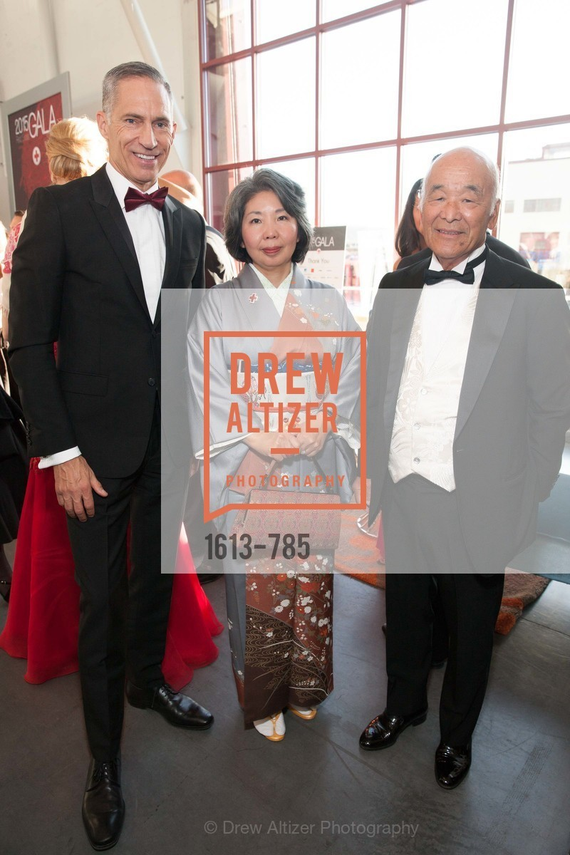 Mark Cloutier, Kazue Watanabe, Hiro Ogawa, 2015 RED CROSS Gala, US, April 11th, 2015,Drew Altizer, Drew Altizer Photography, full-service agency, private events, San Francisco photographer, photographer california