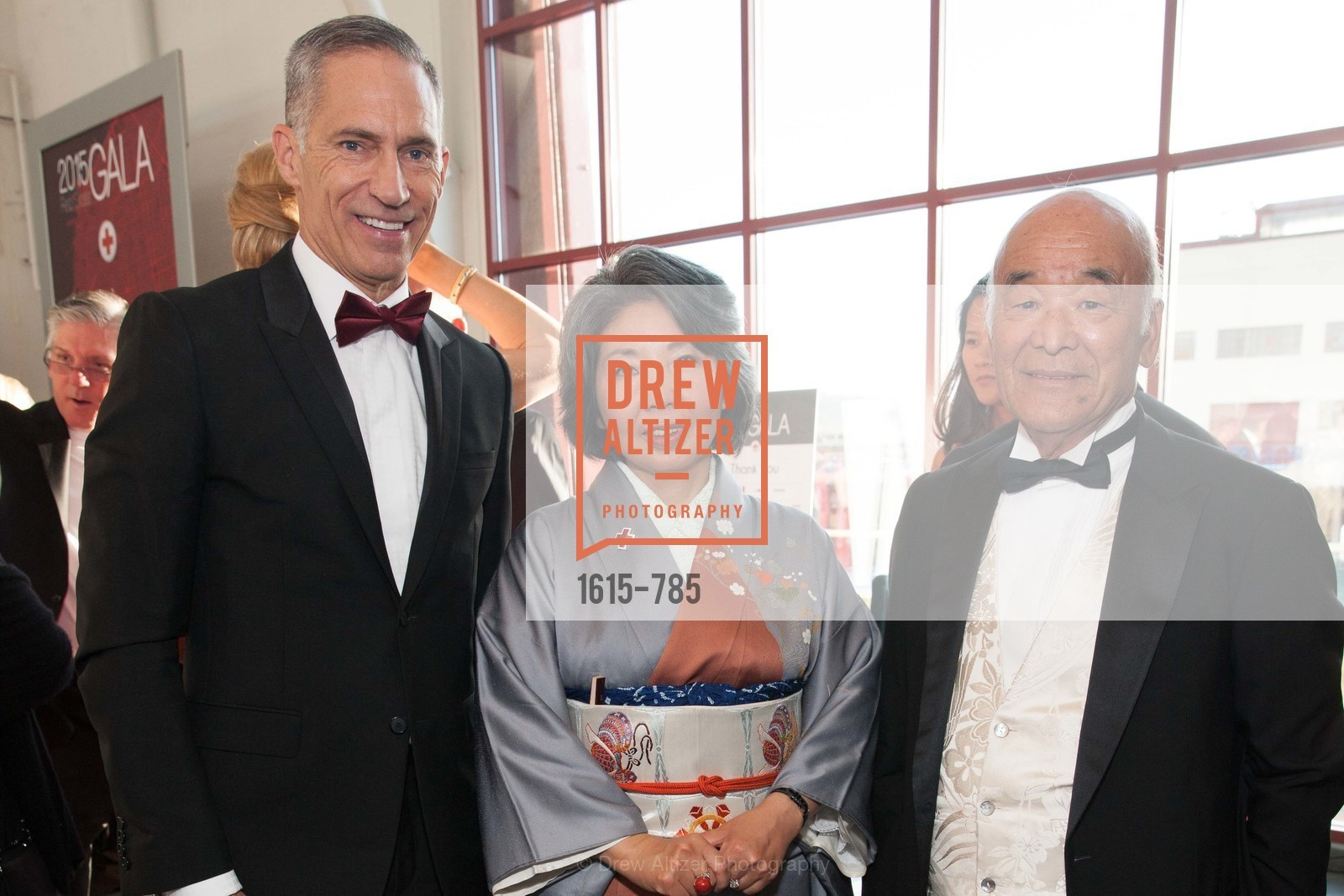 Mark Cloutier, Kazue Watanabe, Hiro Ogawa, 2015 RED CROSS Gala, US, April 12th, 2015,Drew Altizer, Drew Altizer Photography, full-service agency, private events, San Francisco photographer, photographer california