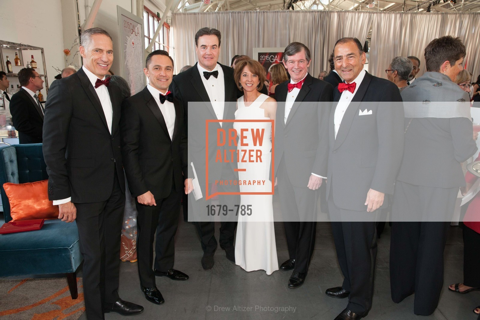 Mark Cloutier, Ezra Garrett, Gail McGovern, Jim Messemer, Teresa Briggs, Anthony Earley, Alexander Mehran, 2015 RED CROSS Gala, US, April 11th, 2015,Drew Altizer, Drew Altizer Photography, full-service agency, private events, San Francisco photographer, photographer california