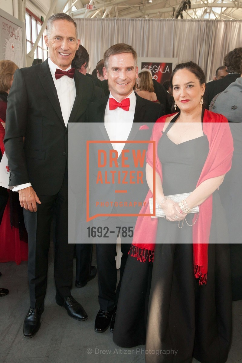 Mark Cloutier, Jonathan Valin, Victoria Valin, 2015 RED CROSS Gala, US, April 11th, 2015,Drew Altizer, Drew Altizer Photography, full-service agency, private events, San Francisco photographer, photographer california