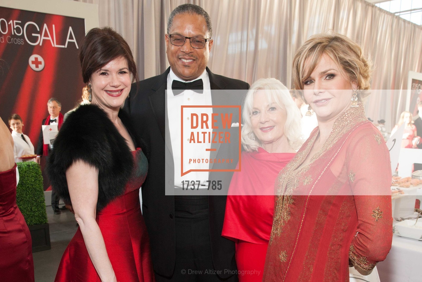 Elaine Mellis, Timothy Alan Simon, Arlene Inch, Deirdre Byrne, 2015 RED CROSS Gala, US, April 11th, 2015,Drew Altizer, Drew Altizer Photography, full-service agency, private events, San Francisco photographer, photographer california