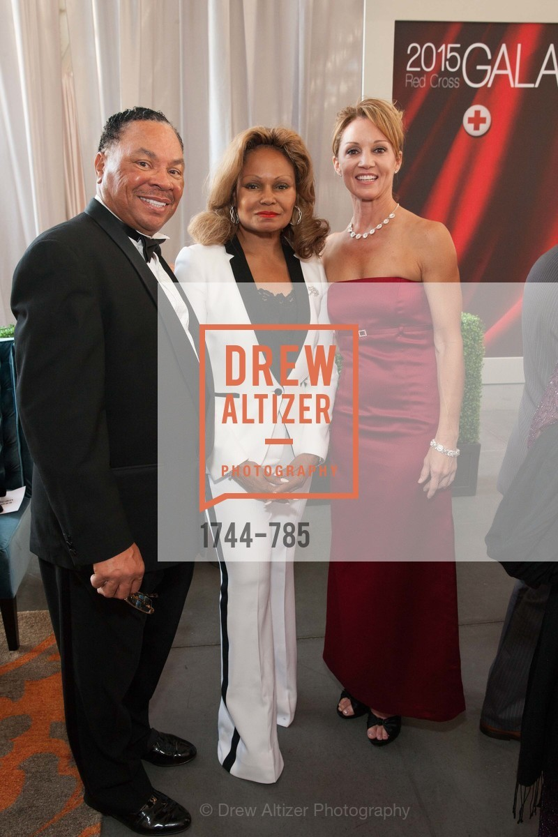 Carlton Bryant, Janice Bryant Howroyd, Michelle Avril, 2015 RED CROSS Gala, US, April 12th, 2015,Drew Altizer, Drew Altizer Photography, full-service agency, private events, San Francisco photographer, photographer california