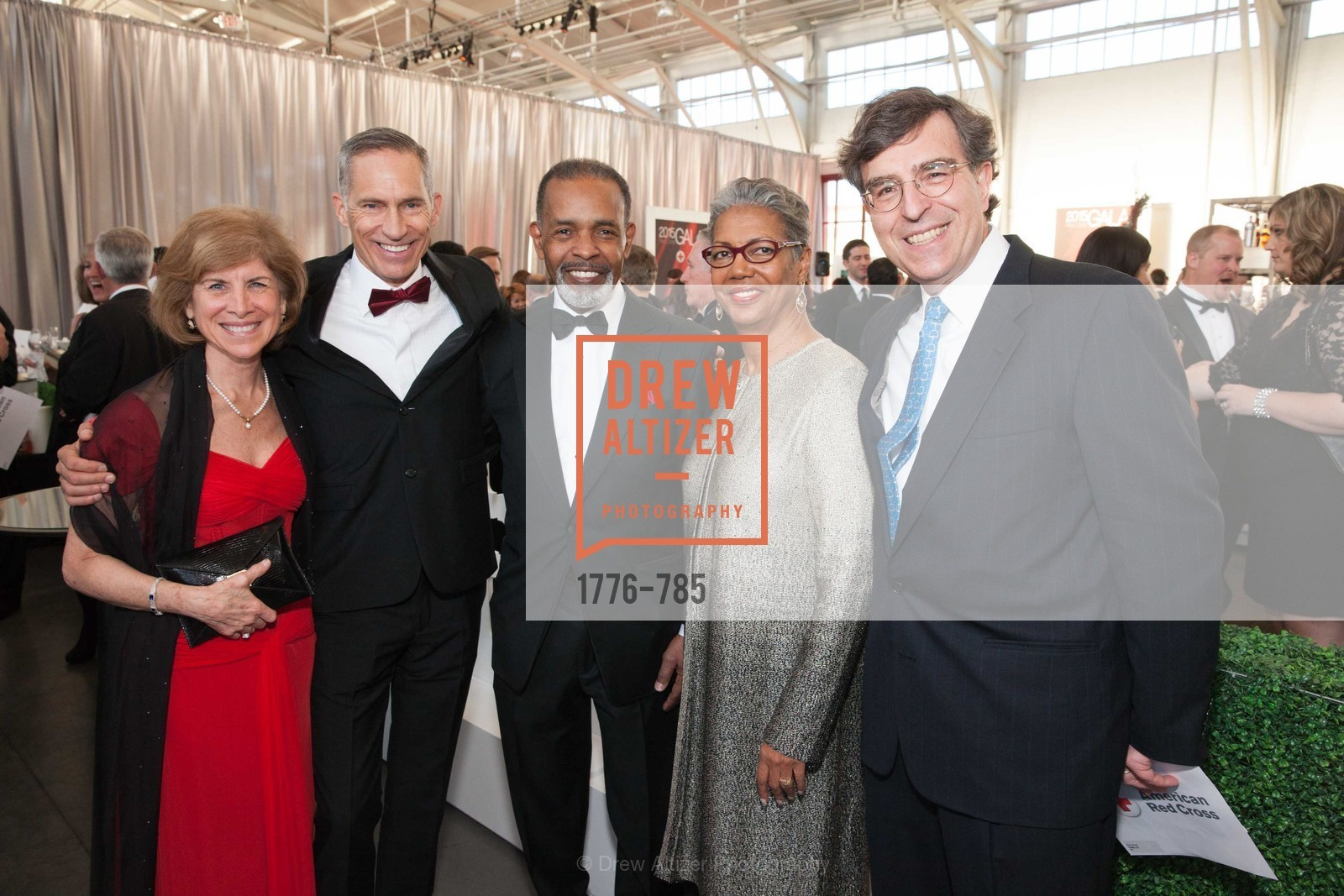 Gail McGovern, Mark Cloutier, Joe Madison, Sharon Madison, Neal Litvack, 2015 RED CROSS Gala, US, April 12th, 2015,Drew Altizer, Drew Altizer Photography, full-service agency, private events, San Francisco photographer, photographer california