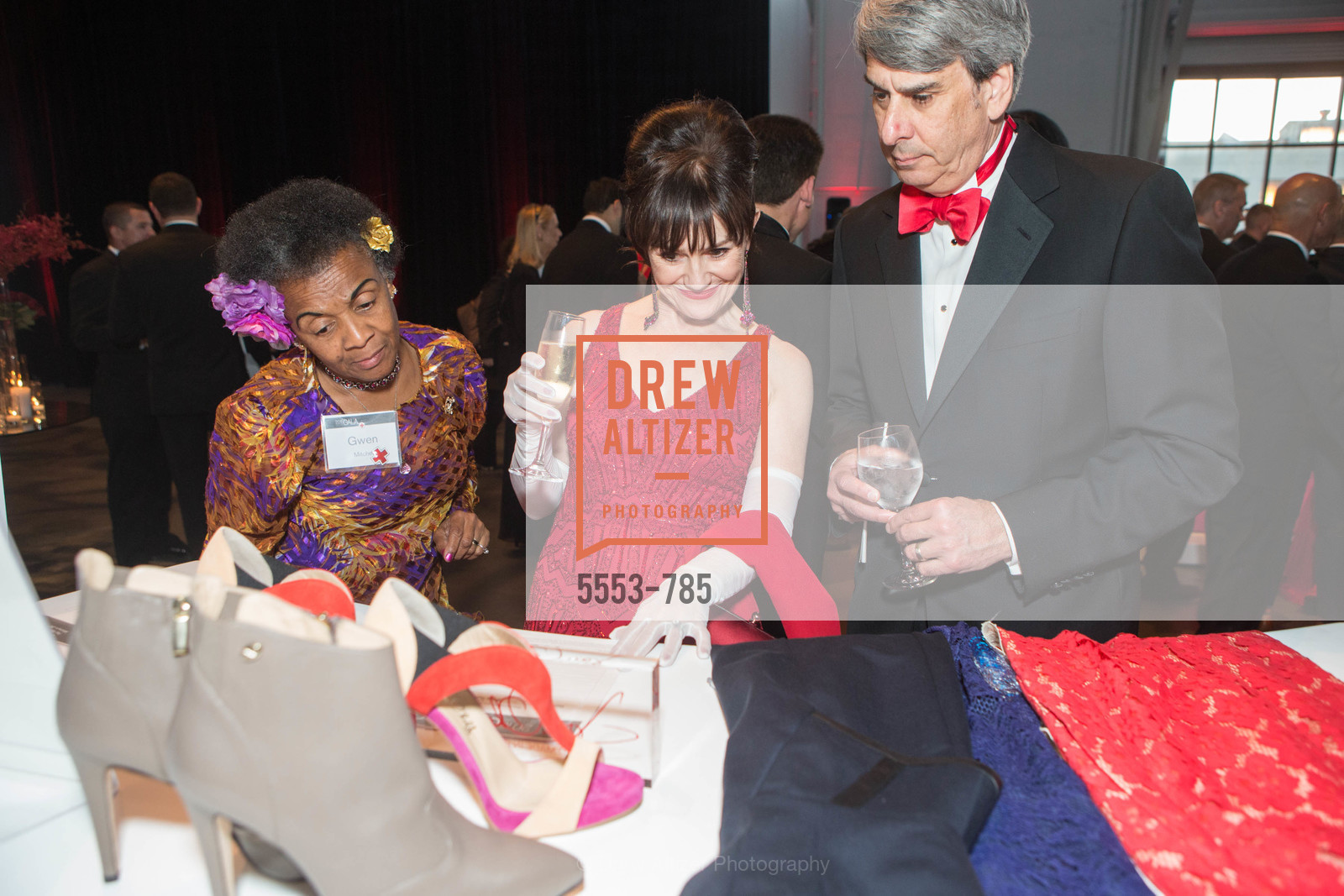 Gwen Mitchell, V'Anne Singleton, Robert Elfont, 2015 RED CROSS Gala, US, April 12th, 2015,Drew Altizer, Drew Altizer Photography, full-service agency, private events, San Francisco photographer, photographer california