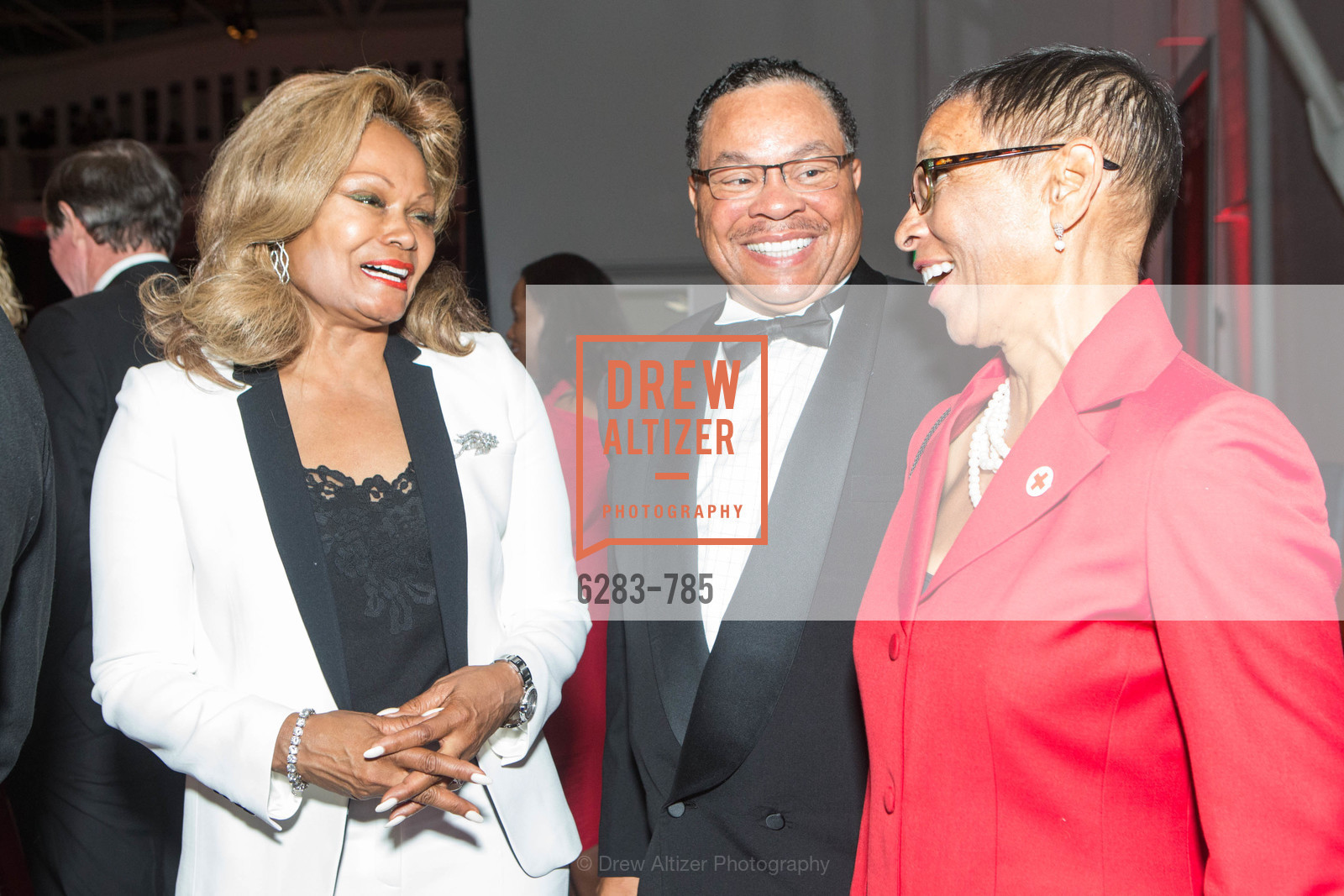 Janice Bryant Howroyd, Carlton Bryant, Donna Duay, 2015 RED CROSS Gala, US, April 11th, 2015,Drew Altizer, Drew Altizer Photography, full-service agency, private events, San Francisco photographer, photographer california