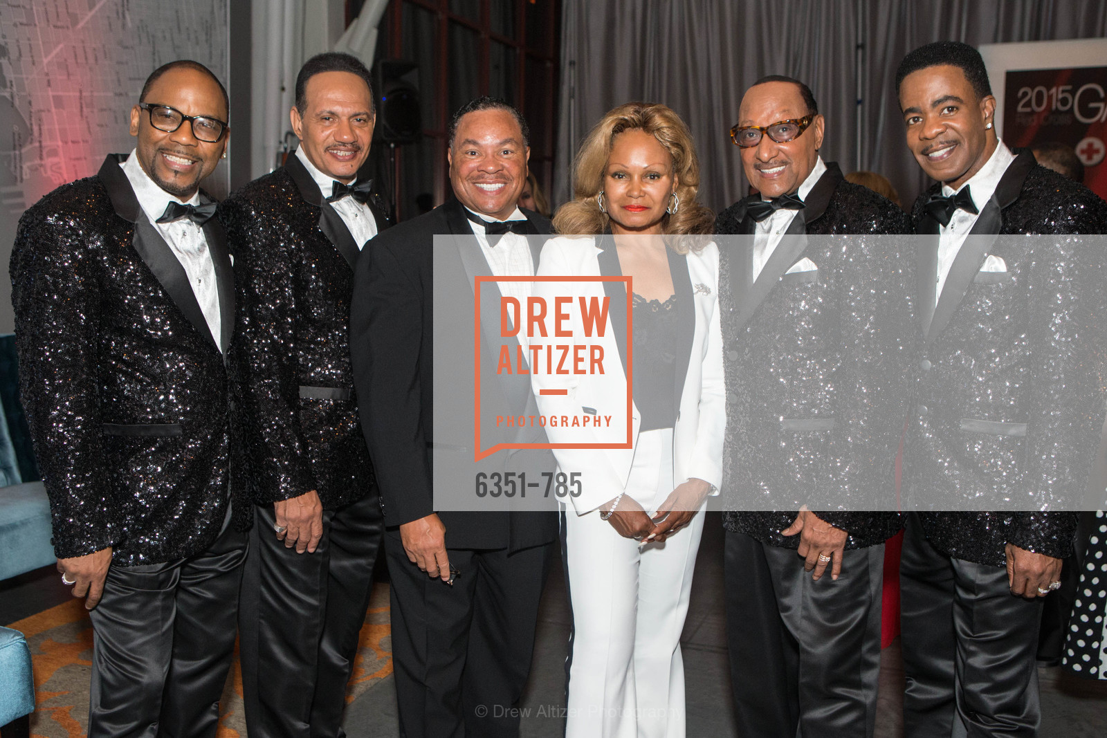 Lawrence Payton, Ronnie McNair, Carlton Bryant, Janice Bryant Howroyd, Duke Fakir, Spike Bonhart, 2015 RED CROSS Gala, US, April 11th, 2015,Drew Altizer, Drew Altizer Photography, full-service agency, private events, San Francisco photographer, photographer california