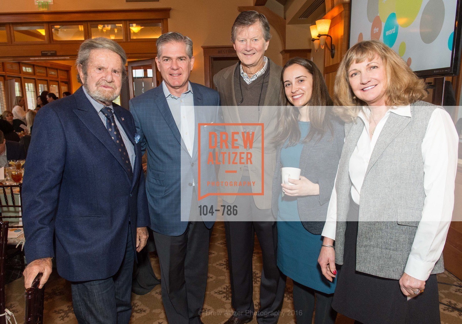Tad Taube, Robert Keller, John Kriewall, Mary Katherine Flanigan, Betsy Hale, The Children's Health Council Breakfast, Sharon Height Golf and Country Club. 900 Sand Hill Rd, February 2nd, 2016,Drew Altizer, Drew Altizer Photography, full-service agency, private events, San Francisco photographer, photographer california
