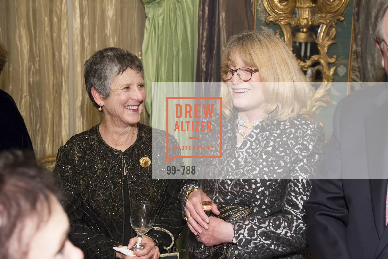Susan Sugarman, Janet Bensick, Reception for the Philharmonia Baroque Orchestra, Private Residence. 2525 Van Ness St, February 2nd, 2016,Drew Altizer, Drew Altizer Photography, full-service agency, private events, San Francisco photographer, photographer california