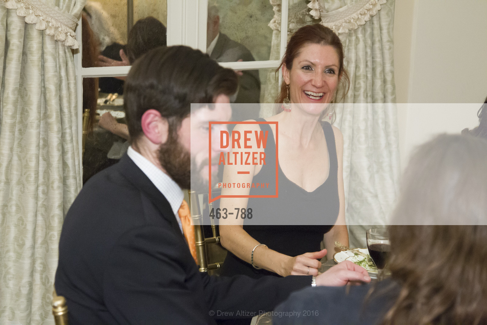 Tyler Lang, Polly Stryker, Reception for the Philharmonia Baroque Orchestra, Private Residence. 2525 Van Ness St, February 2nd, 2016,Drew Altizer, Drew Altizer Photography, full-service agency, private events, San Francisco photographer, photographer california