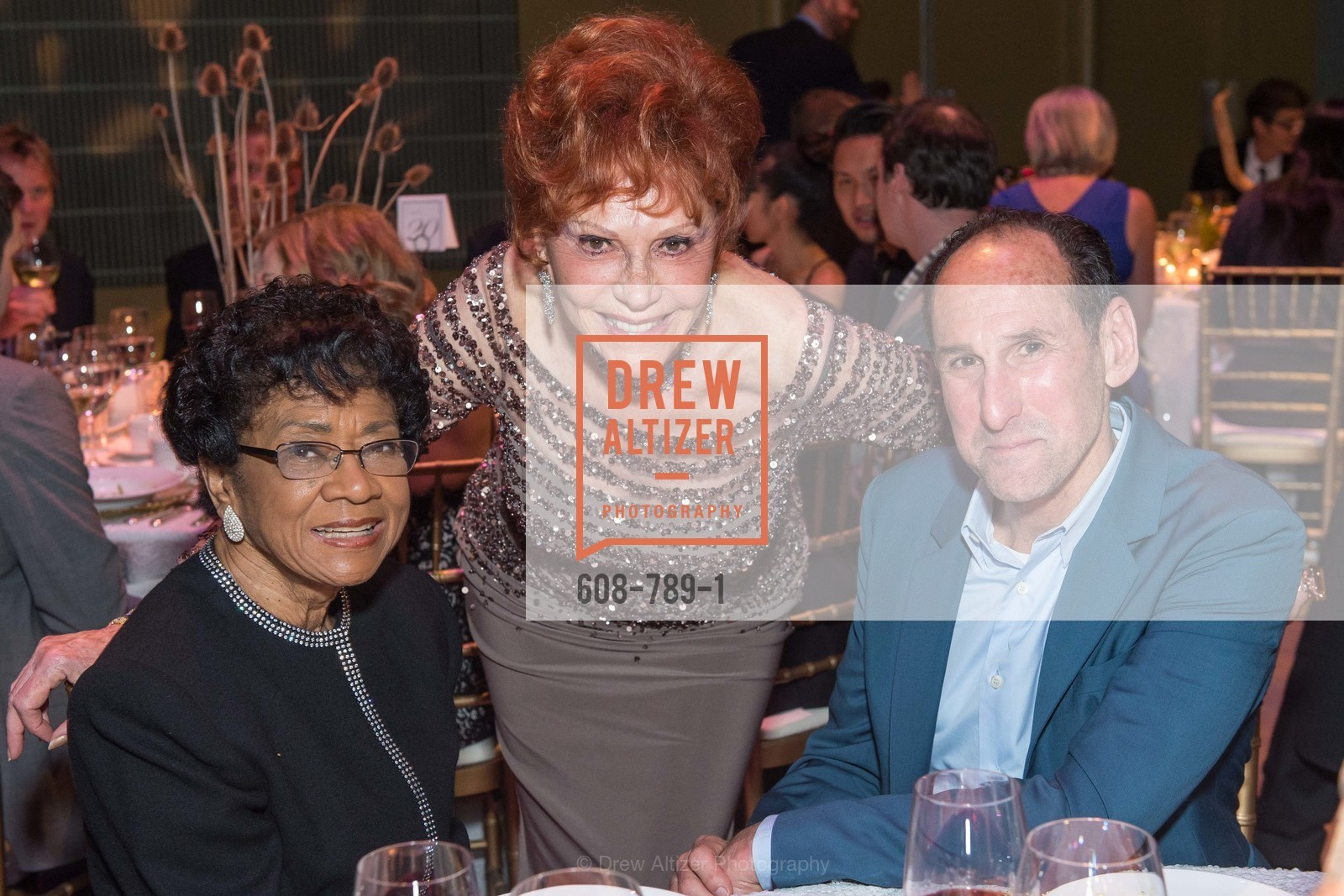 Belva Davis, Glorya Kaufman, Rich Silverstein, ALONZO KING LINE'S Ballet Spring Gala 2015, US, April 11th, 2015,Drew Altizer, Drew Altizer Photography, full-service agency, private events, San Francisco photographer, photographer california