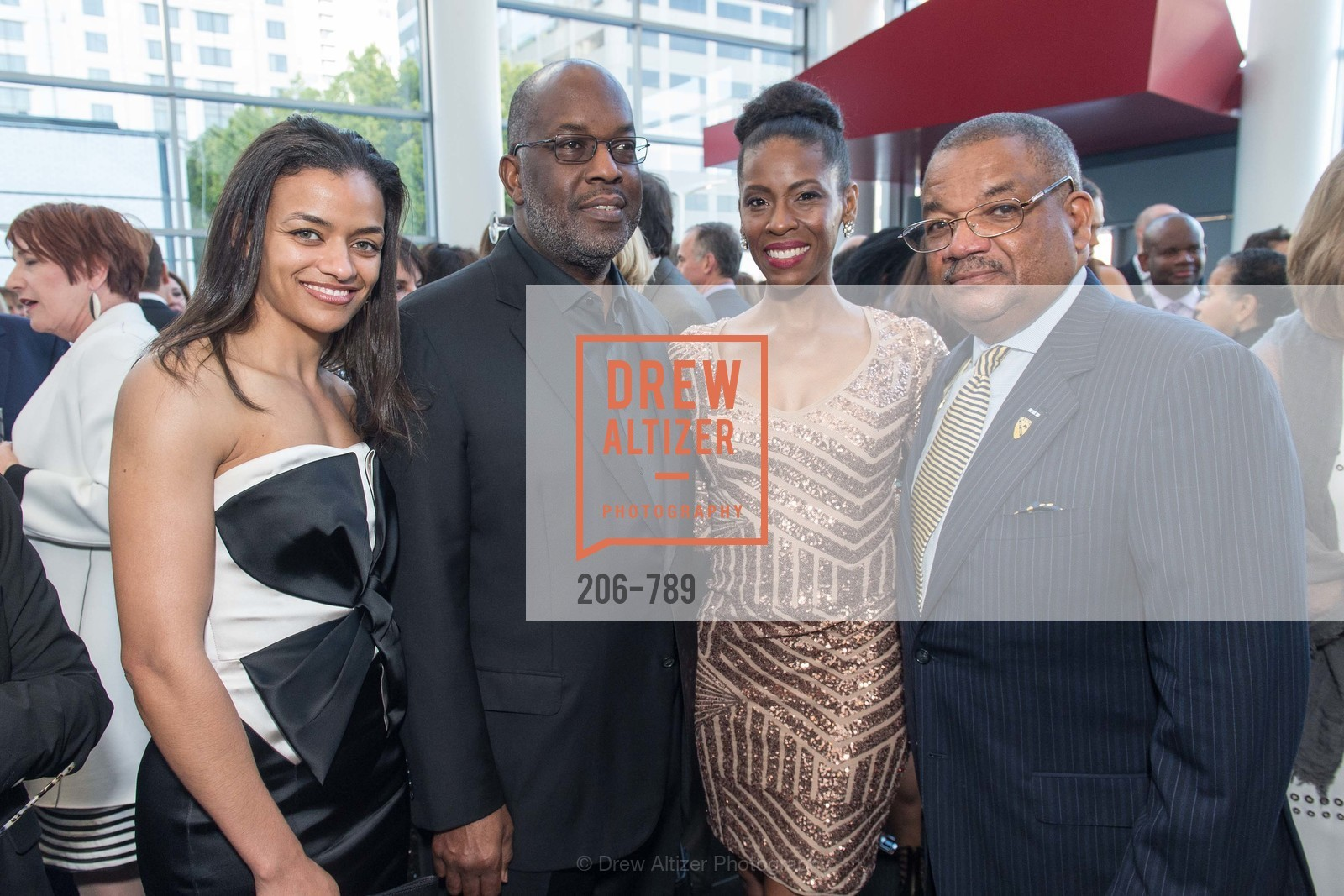 Felice Newsone, Bernard Tyson, Michelle Hudson, Carl Hackney, ALONZO KING LINE'S Ballet Spring Gala 2015, US, April 12th, 2015,Drew Altizer, Drew Altizer Photography, full-service agency, private events, San Francisco photographer, photographer california