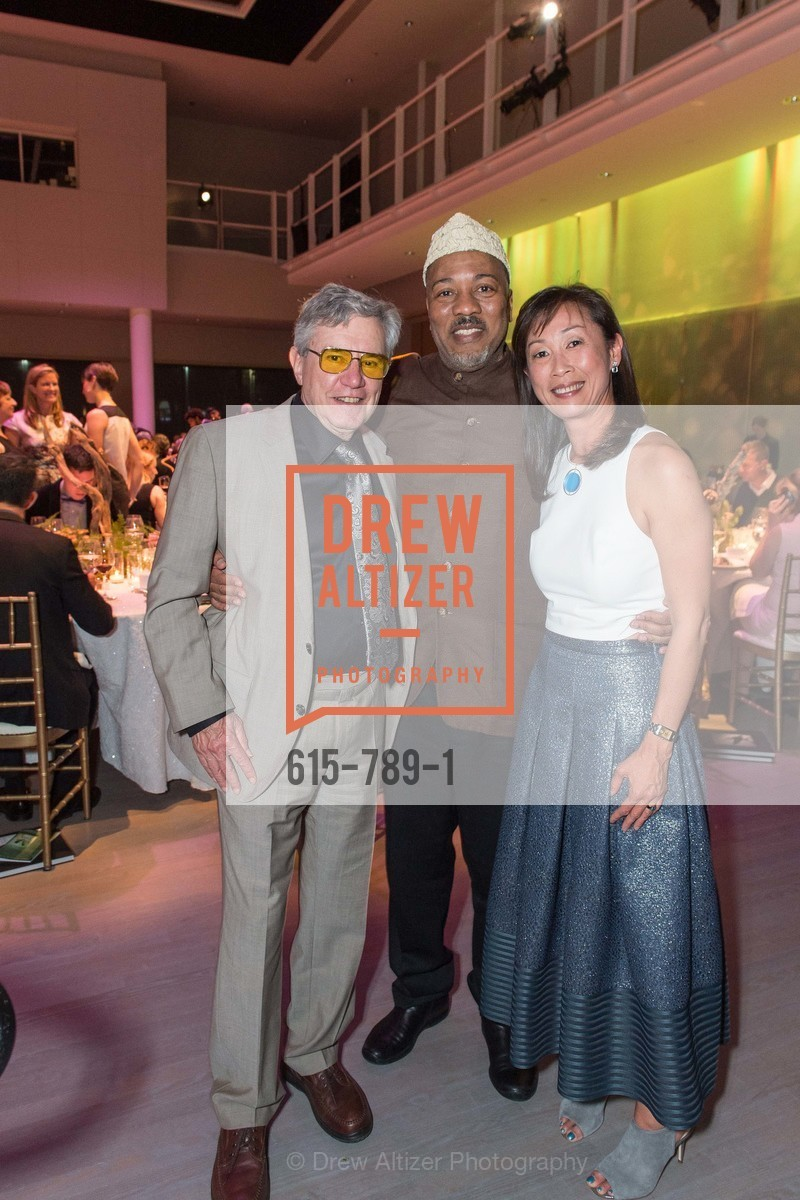 Bernie Krause, Alonzo King, Lucia Choi-Dalton, ALONZO KING LINE'S Ballet Spring Gala 2015, US, April 12th, 2015,Drew Altizer, Drew Altizer Photography, full-service agency, private events, San Francisco photographer, photographer california