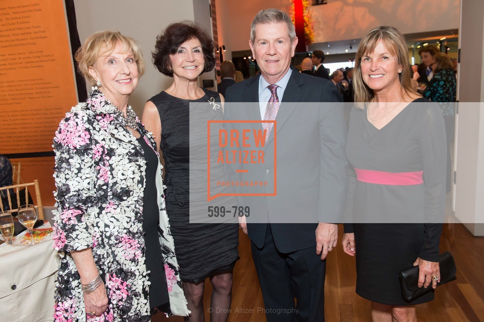 Judith Heuser, Pam Martori, Richard Benefield, Rayna Bernard, ALONZO KING LINE'S Ballet Spring Gala 2015, US, April 11th, 2015,Drew Altizer, Drew Altizer Photography, full-service agency, private events, San Francisco photographer, photographer california